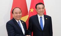Nguyen Xuan Phuc trifft Chinas Premierminister Li und Thailands Premierminister Prayut