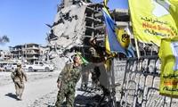 Die US-geführte Anti-IS-Koalition bildet Grenzsicherheitstruppe