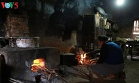 Der Ofen der ethnischen Minderheit Tay in Binh Lieu