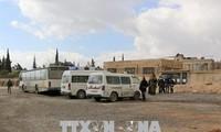 """Syrische Regierung errichtet neuen """"humanitären Fluchtkorridor"""" in Ost-Ghouta"""