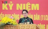 Offiziere und Polizisten lernen nach sechs Ratschläge von Präsident Ho Chi Minh