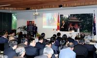 Premierminister Nguyen Xuan Phuc trifft die vietnamesische Gemeinschaft in Neuseeland
