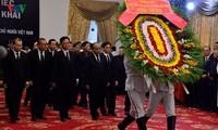 Kondolenzbesuch für den ehemaligen Premierminister Phan Van Khai