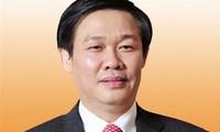 Vizepremierminister Vuong Dinh Hue empfängt seinen südkoreanischen Amtskollegen Kim