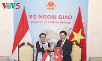 Förderung der strategischen Partnerschaft zwischen Vietnam und Indonesien