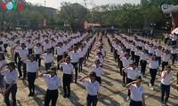 300 Freiwillige beim Hue-Festival 2018