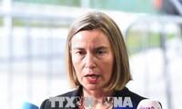 EU und Russland wollen am Atomabkommen mit Iran festhalten