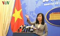 Vietnam fordert China zur Verantwortung für Frieden und Stabilität im Ostmeer auf