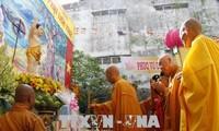 Feier zum Vesak-Tag 2562 in vietnamesischen Provinzen