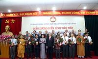 70 ausgezeichnete Funktionäre der Vaterländischen Front Vietnams geehrt