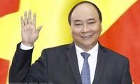 Premierminister Nguyen Xuan Phuc beginnt seine Teilnahme am erweiterten G7-Gipfel