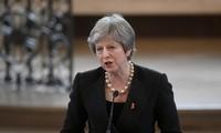 Brexit: Die britische Premierministerin gewinnt wichtige Brexit-Abstammung im Parlament