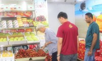Vietnamesische Litschis sind in Malaysia sehr gefragt