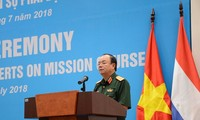 Eröffnung des Trainingskurses der Militärexperten der UN-Friedenstruppen