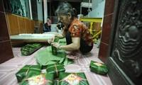 Day-Kuchen Quan Ganh als Spezialität