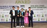 Vietnam gewinnt drei Goldmedaillen bei WICO 2018