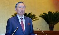 Der Minister für öffentliche Sicherheit stellt sich dem Ständigen Parlamentsausschuss