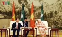 Vietnam und afrikanische Länder unterstützen ständig einander