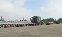 Nationalfeiertag: Mehr als 38.000 Menschen besuchen Ho Chi Minh-Mausoleum