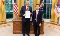 Trump würdigt Schritte der umfassenden Partnerschaft zwischen USA und Vietnam