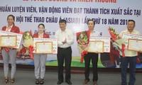 Danang ehrt Medaillengewinner bei ASIAD 18