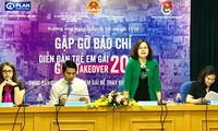 100 Mädchen nehmen am Forum zur Förderung der Rechte von Mädchen teil