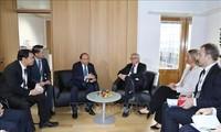 Treffen am Rande des 12. ASEM-Gipfels