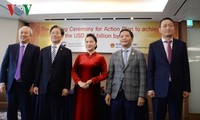 Memorandum of Understanding über Erhöhung des Vietnam-Südkorea-Handelsvolumens