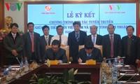 Zusammenarbeit zwischen VOV und Provinz Ninh Thuan in der Aufklärung