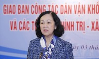 Bilanzkonferenz zur Öffentlichkeitsarbeit der Vaterländischen Front Vietnams