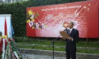 Die vietnamesische Botschaft in Argentinien veranstaltet Treffen zum bevorstehenden Neujahrsfest Tet