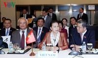 Parlamentspräsidentin Nguyen Thi Kim Ngan nimmt an Abschlussfeier des 27. APPF teil