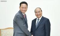 Premierminister Nguyen Xuan Phuc empfängt den südkoreanischen Botschafter in Vietnam