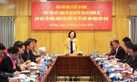 Verstärkung der Rolle als Brücke zwischen dem vietnamesischen Volk und anderen Völkern in der Welt