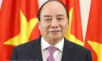 Premierminister Nguyen Xuan Phuc ist in Peking eingetroffen