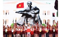 Kunstprogramm über Präsident Ho Chi Minh