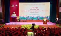 Nationale Gedenkfeier zum 130. Geburtstag des Leiters des Ständigen Parlamentsausschusses Nguyen Van To