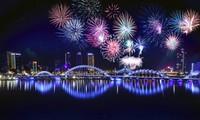 Eröffnung des internationalen Feuerwerksfestivals 2019