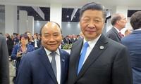 G20-Gipfeltreffen: Premierminister Nguyen Xuan Phuc trifft Spitzenpolitiker