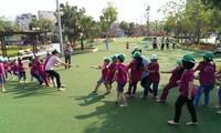 Spiel ist Recht und Chance zur Entwicklung der Geschicklichkeit von Kindern