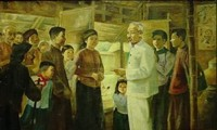 """Sonderausstellung """"Erinnerung an Präsident Ho Chi Minh"""""""