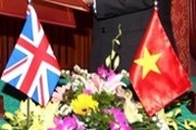 英国加强与越南的合作关系