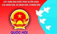 越南全国各地编制14届国会代表和2016至2021年任期各级人民议会代表选举候选人的正式名单