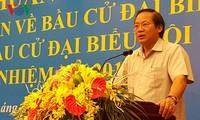 越南有关方面举行选举宣传培训班
