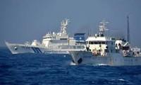 中国海警船再次进入争议海域