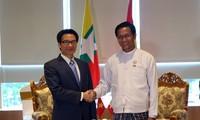 """武德担结束出席在缅甸举行的""""四个国家-一个目的地""""论坛行程"""