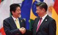 二十国集团领导人杭州峰会期间举行的双边会晤