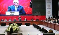 陈大光满结束出席亚太经合组织第24次领导人非正式会议行程