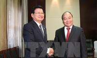 老挝总理通伦出席并共同主持越老政府间合作委员会第三十九次会议