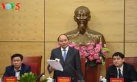 阮春福要求义安省2025年成为中等发展水平省份